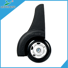 Customized knockdown swivel caster inserts