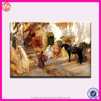 High quality artist hand painted Muslim oil painting