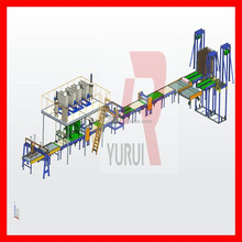 Multi functional china mgo board/plate machine line 29years installation