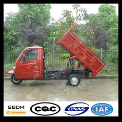China 3 Wheel Cargo Tricycle With Cabin For Sale