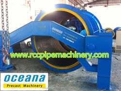 Suspension Roller Concrete Pipe Making Machine for 3m diameter concrete pipe