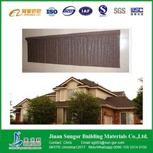 Manufacture stone coated metal roofing Steel Corrugated Sheet Price