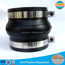 clamp type bellows compensators rubber expansion joints