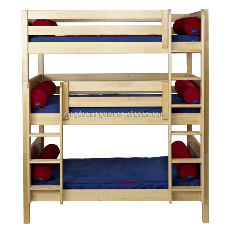 3 layer bunk bed 2