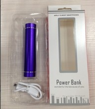2015 LED mobile power supply Mobile charge portable power 2600mA