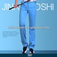 Hombres dri-fit tech golf <span class=keywords><strong>pantalones</strong></span> <span class=keywords><strong>pantalones</strong></span> de color azul cielo
