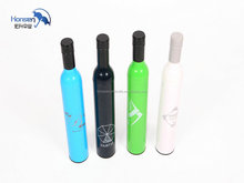 3 Folds Wine Bottle Umbrella Nylon Material and Umbrellas Type wine umbrella