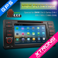"7"" Digital Android 4.4.4 Car DVD Player For bmw Old 3 Series E46/320/325"