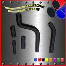 Black motorcycle silicone rubber radiator hose kit for YAMAHA YZF250 2010 hose kits
