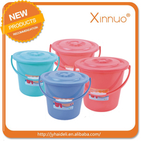 2015 plastic water can big size 20L plastic bucket Eco-friendly recycle bucket