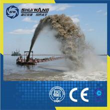 China sand jet suction digging dredger/ boat/ ship/ vessel for sale