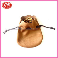2015 Double drawstring jewelry pouch&Factory Direct jewel protect bags