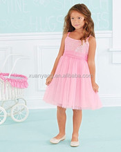 Wholesale New Dress Stitching Designs Baby Girls Summer Dress