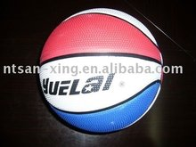 Promotional Colorful Street Rubber Basketball