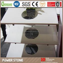 Super Nano Crystallized Glass Stone, Bathroom Counters White Sink