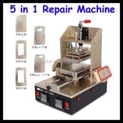 New Product 5 in 1 Mobile Repair Tools, Vacuum LCD Separator/OCA Glue Remover/Bezel Separator and Laminator/Heating Machine