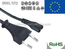 VDE approval whloesale flat electrical power extension cord