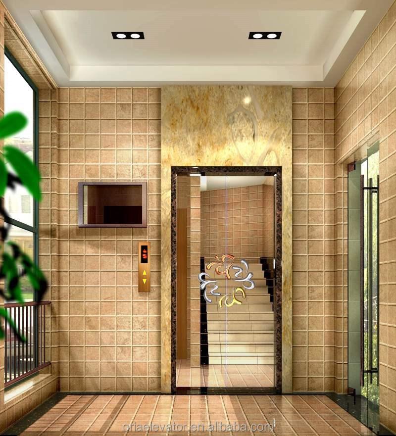 Oria villa elevator v008 home mini lift hydraulic personal for Personal elevators for the home