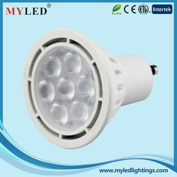 Plastic Case with Inner Aluminum CE RoHS Approval GU10 SMD 3.5W LED Spotlight