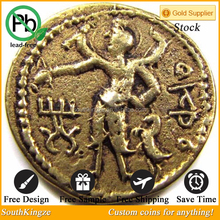 2015 new products of iron casting ancient coin Roman