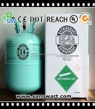 Gaz refrigerante r134a avec 13.6 kg cylindre