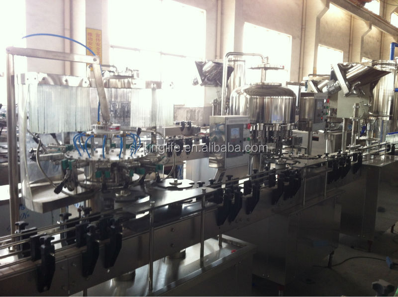 Monoblock Pure Water Bottling Machine