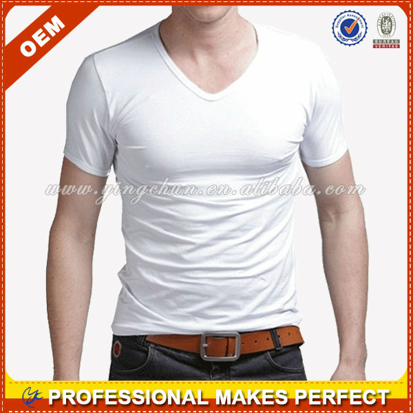 V neck white t shirts wholesale men 2013 yct b0222 buy for White t shirts in bulk