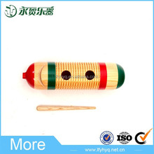 Alibaba china de mini instrumento musical de madera guiro