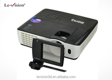 3D mini LCD modulator used for DLP projectors, Mini 3D home theater system for DLP link or VESA, Home 3D cinema system