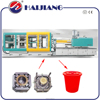 plastic buckets injection molding machine