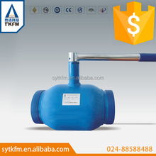 2015 hot sale city heating and city water supply use pneumatic 90 degree ball valve