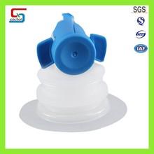 Supply BIB bag in box specialized blue plastic spiral valve