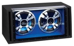 pro dual 12 inch pa subwoofer box