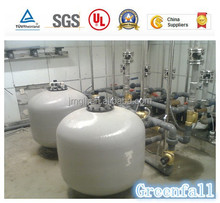 Jiangmen Greenfall UF water treatment equipment has full-automatic three-stage filtration without dosing and filter exchange