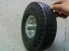 rubber wheel 10x3.50-4
