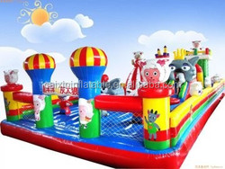 Outdoor Inflatable Giant Jumping Castle Inflatable funny dragon fun city playground