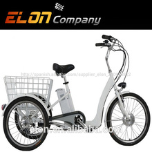 Bicicleta con 3 ruedas para adultos( e- tdr05c)