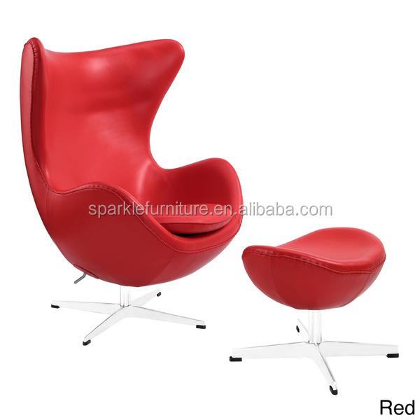 Ei Stil Drehstuhl/Wohnzimmer Stuhl/Freizeit Stuhl Leder Rot Drehstuhl  Wohnzimmer | Möbelideen.