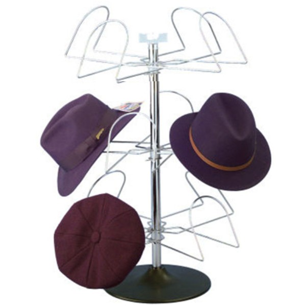 Merveilleux Related Produce: 8 Pocket Counter Hat Spinner Rack ...