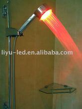 overhead shower/LED Temperature Detectable Shower/rainfall shower head