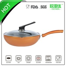 aluminum ceramic wok