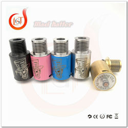 hot SS / Black / white / slim / blue/green / pink / copper Mini Mad Hatter rda