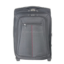 the fancy luggage with full lining 2 front large pockets
