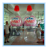 Cutom advertising inflatable replica water bottle replica,beer bottle for sale