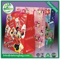 impreso de mickey mouse bolsa de papel bolsa de papel lindo precio