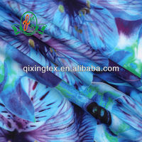 high stretch sublimation printing fabric for sportswear/swimwear