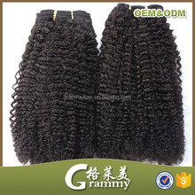 indian weaving hair extension indian hair weave kiky curly remy weft