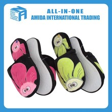 new design close toe big sun flower slippers, wholesale slippers