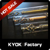 KYOK PVC Box Package for Curtain Poles Series, Drapery Rods in Delicate Packing