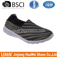 simple and more comfortable woven shoes by hand made in china for men